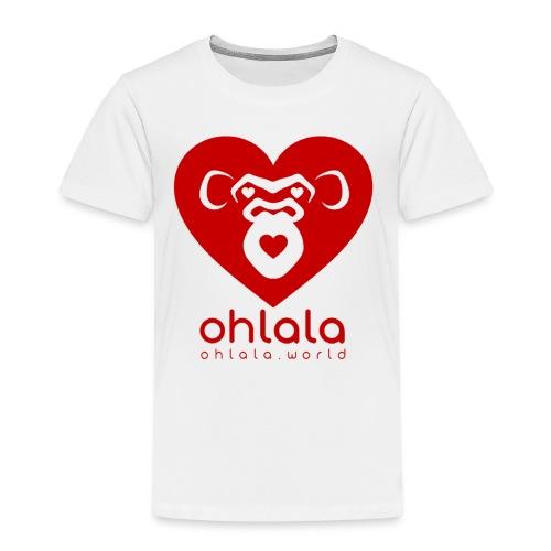 Ohlala LOVE - Kinder Premium T-Shirt