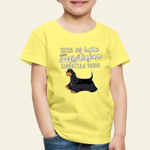 Jenkki Kiltti 5 - Lasten premium t-paita