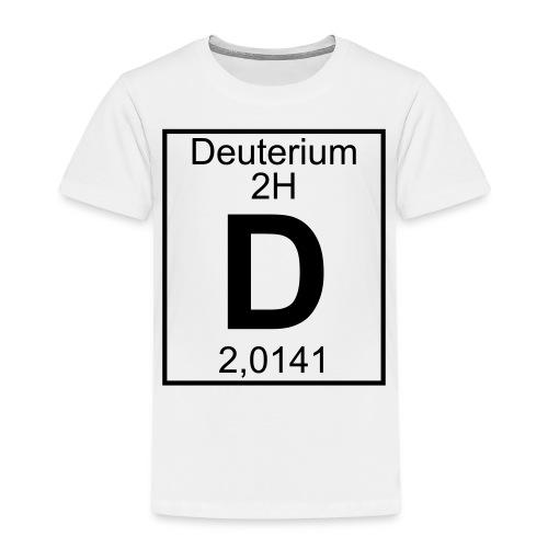 D (Deuterium) - Element 2H - pfll - Kids' Premium T-Shirt
