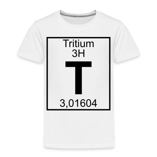 T (tritium) - Element 3H - pfll - Kids' Premium T-Shirt