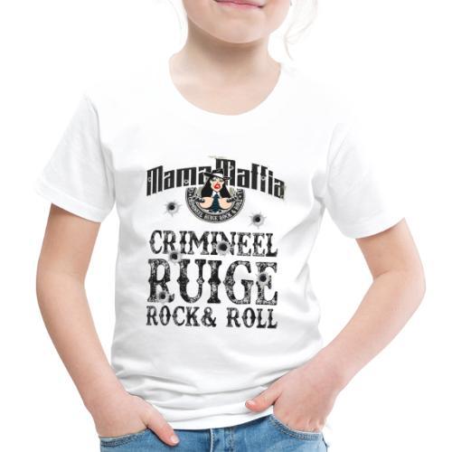 Crimineel Ruige Rock & & Roll Shirt - Kinderen Premium T-shirt