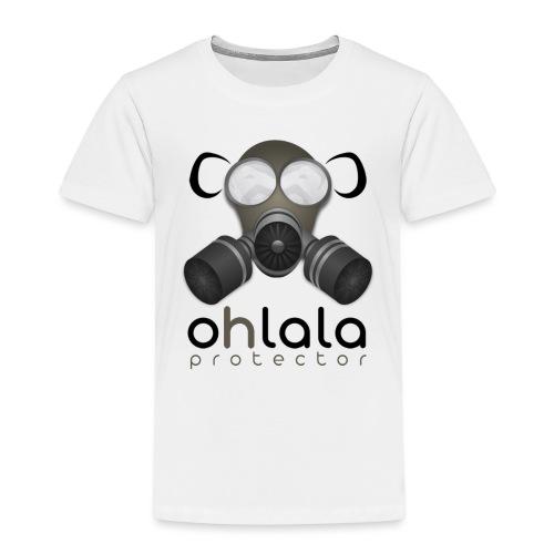 OHLALA PROTECTOR BLK - Kinder Premium T-Shirt