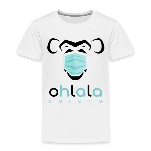 OHLALA CORONA WHITE - Kinder Premium T-Shirt