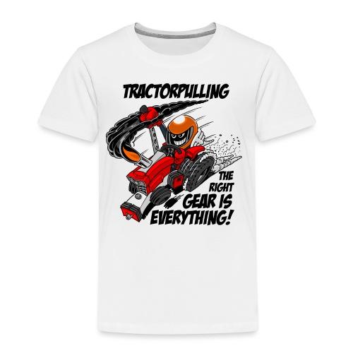 0966 tractorpulling - Kinderen Premium T-shirt