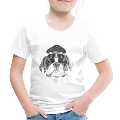 Boxer with cap - Børne premium T-shirt