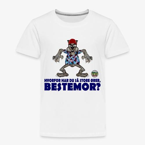 Rødhette og ulven - Premium T-skjorte for barn
