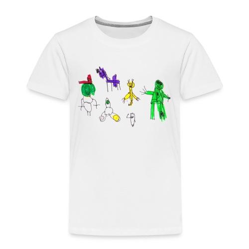 oskarin t-paita - Kids' Premium T-Shirt