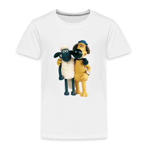 Shaun das Schaf T-Shirt - Shaun und Bitzer - Kinder Premium T-Shirt