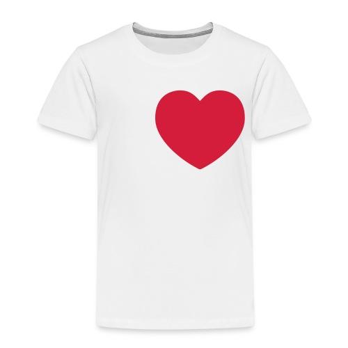 Idö vit text - Premium-T-shirt barn