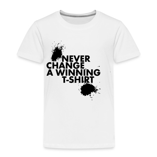 Never change a winning T-shirt - Kinderen Premium T-shirt