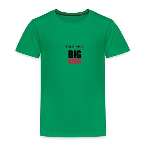 I am the big boss - T-shirt Premium Enfant