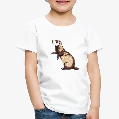 Ferret V - Lasten premium t-paita