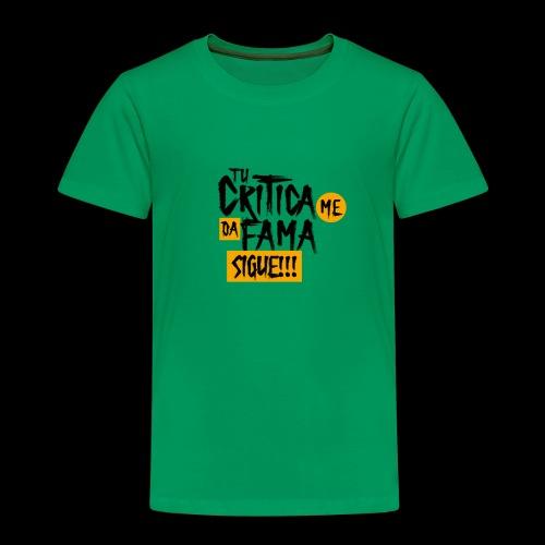 CRITICA - Camiseta premium niño