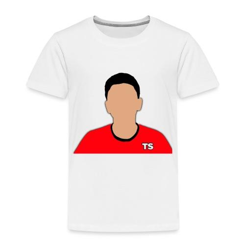 Techy Shooter Logo - Kids' Premium T-Shirt