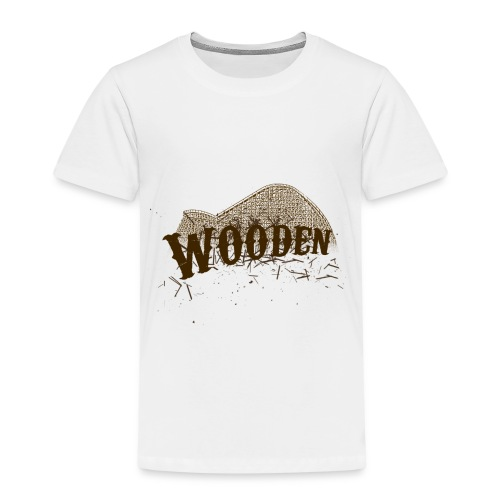 Wooden - T-shirt Premium Enfant