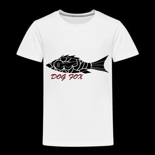 Dogfox Fisch - Kinder Premium T-Shirt