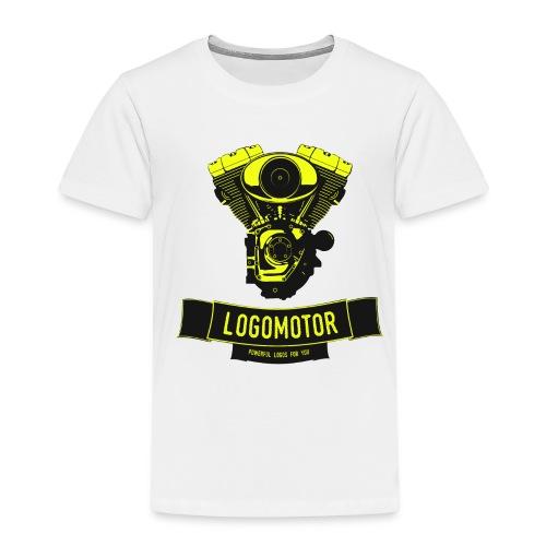 logomotor logo web - Kinder Premium T-Shirt