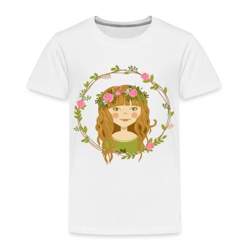 Blumenmädchen - Kinder Premium T-Shirt