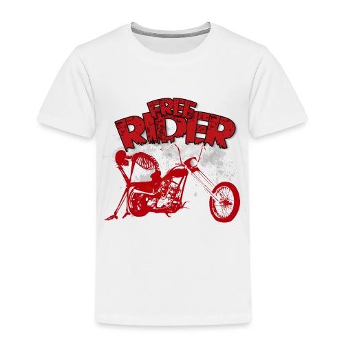 FREE RIDER - Camiseta premium niño