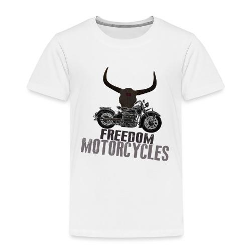 FREEDOM MOTORCYCLES - Camiseta premium niño