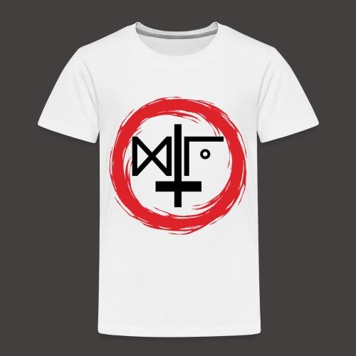 Logo Gu Croix Noir - T-shirt Premium Enfant