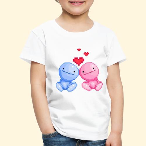 Nohohon amoureux de la Saint Valentin - T-shirt Premium Enfant