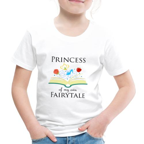 Princess of my own fairytale - Black - Kids' Premium T-Shirt