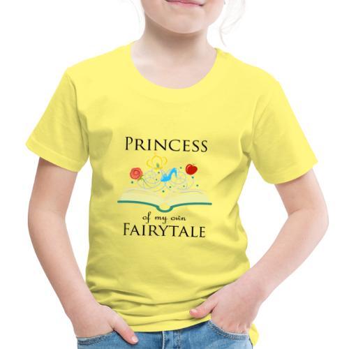 Princess of my own fairytale - Black - Kids' Premium T-Shirt