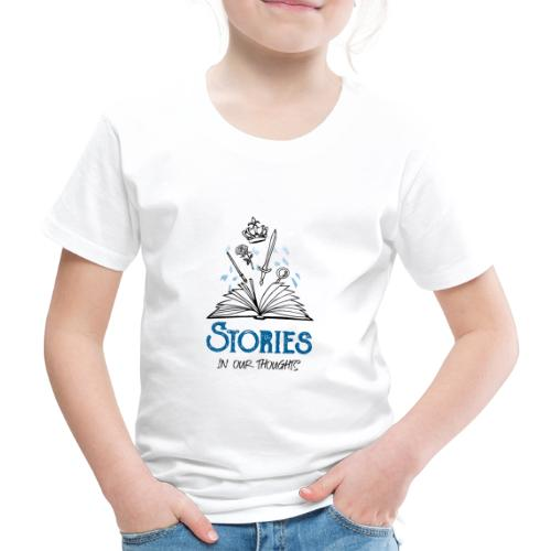 Stories In Our Thoughts - Black - Kids' Premium T-Shirt