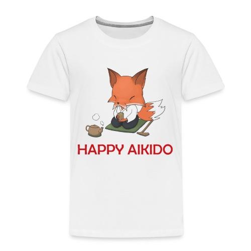 sensei_räv_Tröja_KLAR - Kids' Premium T-Shirt
