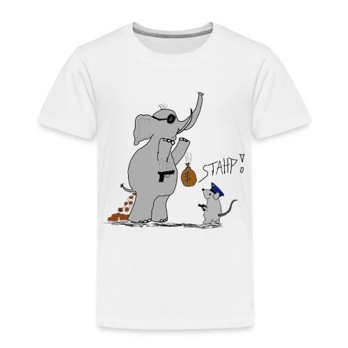Bankraub Fail - Kinder Premium T-Shirt