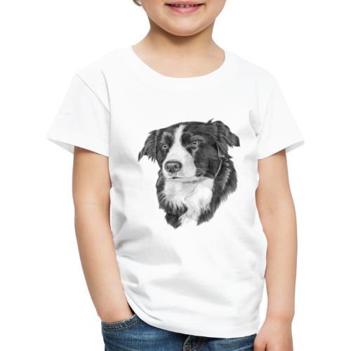 border collie S - Børne premium T-shirt