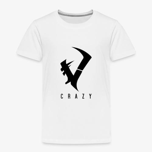 CraZy-Logo Schwarz - Kinder Premium T-Shirt
