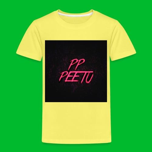 Ppppeetu logo - Lasten premium t-paita