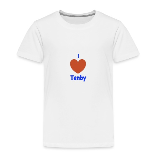 I love Tenby - Kids' Premium T-Shirt