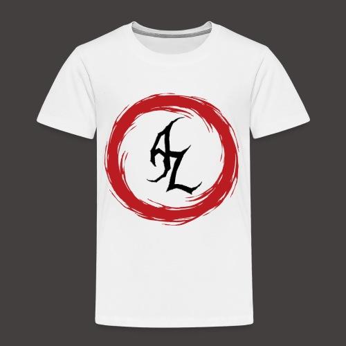 Logo Officiel Azaros Noir - T-shirt Premium Enfant