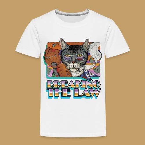 Crime Cat- Breaking the Law - Koszulka dziecięca Premium