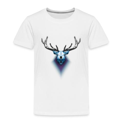 Low Poly Deer - Maglietta Premium per bambini