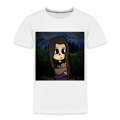 ninjax met achtergrond - Kinderen Premium T-shirt