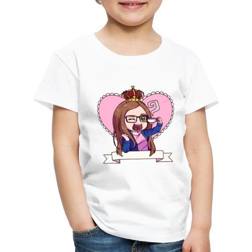Kaja i farver - Børne premium T-shirt