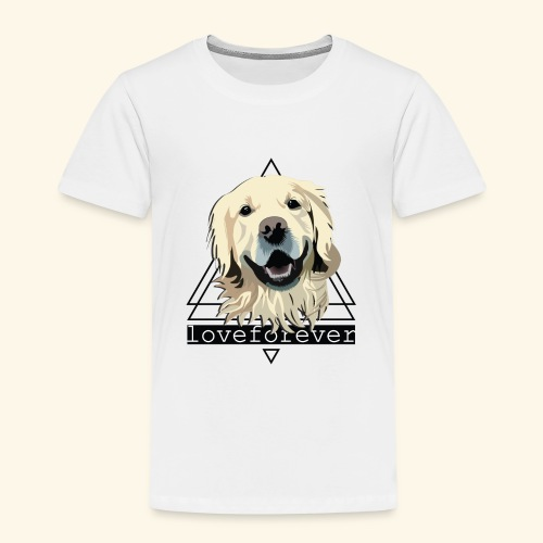RETRIEVER LOVE FOREVER - Camiseta premium niño