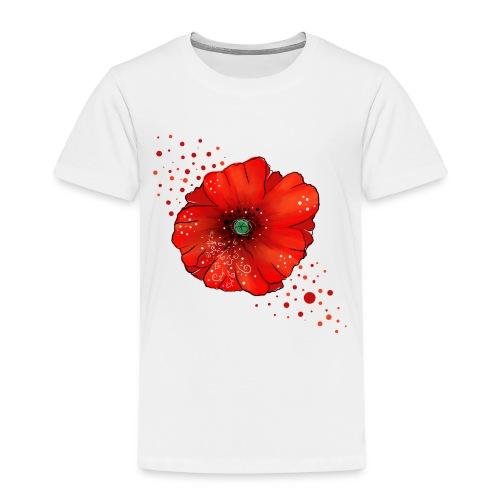 Mohnblume - Kinder Premium T-Shirt