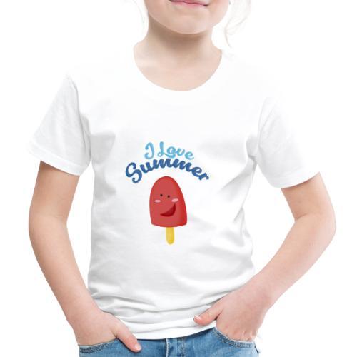 I love Summer - Camiseta premium niño