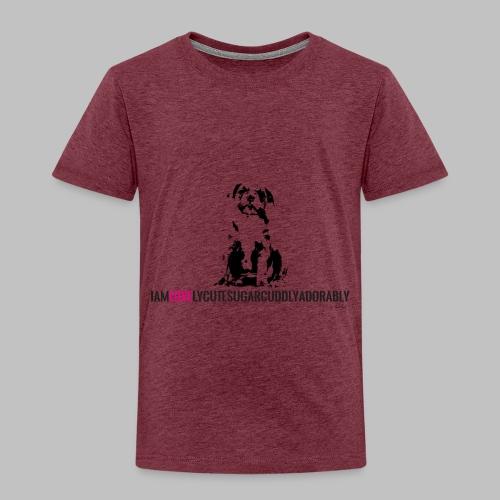 FRANZÖSISCHE BULLDOGE - WELPEN - LOVE - Kinder Premium T-Shirt
