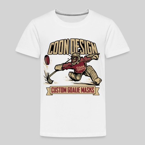 CoonDesign - Goalie - Kinder Premium T-Shirt