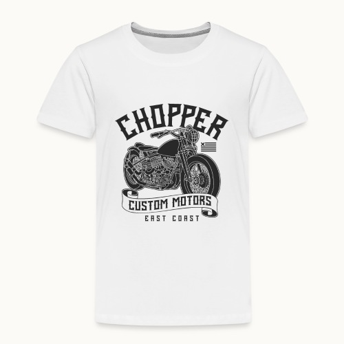 Coole Motorrad Biker Sprüche Geschenk - Kinder Premium T-Shirt