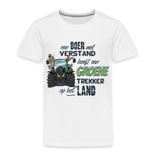 0195 Boer verstand F - Kinderen Premium T-shirt