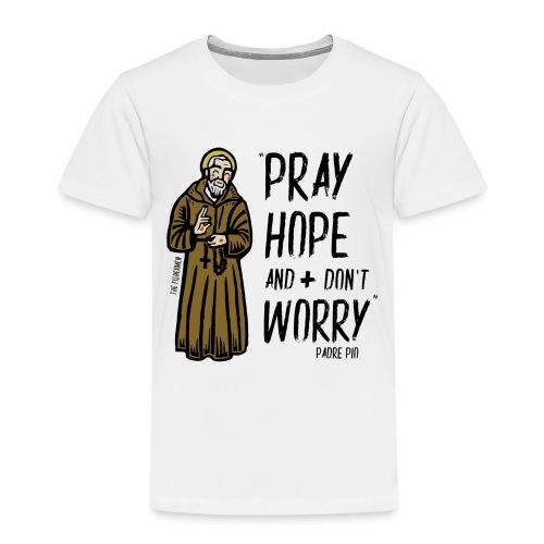 Padre Pío - Camiseta premium niño