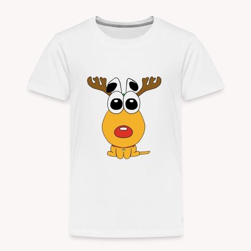 Sansone vestito da renna di Babbo Natale - Maglietta Premium per bambini
