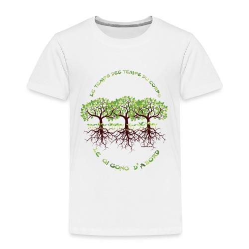 T-shirt les temps du corps, Lembrun 2016/Qi Gong - T-shirt Premium Enfant